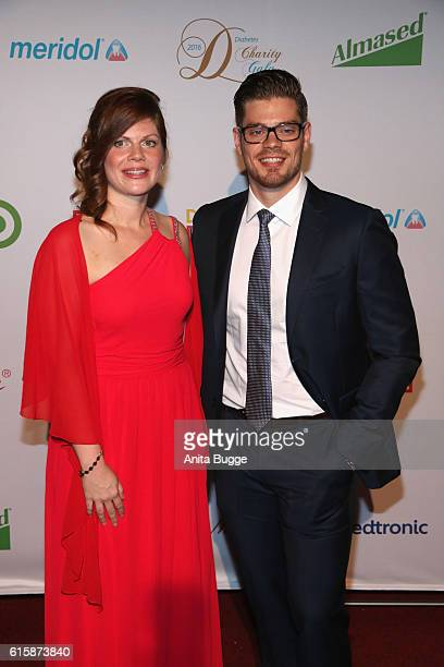 Jennifer Fuchsberger and Julien Fuchsberger attend the 6th Diabetes Charity Gala at TIPI am Kanzleramt on October 20, 2016 in Berlin, Germany.
