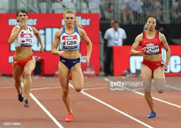 Jennifer Galais of France Anna Kielbasinska of Poland Beth Dobbin of Great Britain and Northern Ireland Guifen Huang of China and Justine Paleraman...