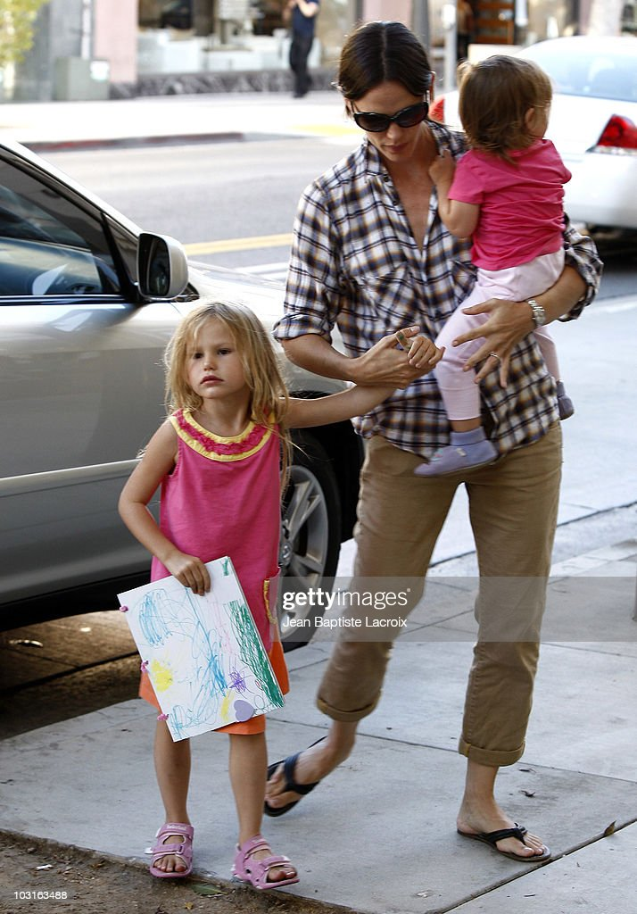 Celebrity Sightings In Los Angeles - July 29, 2010