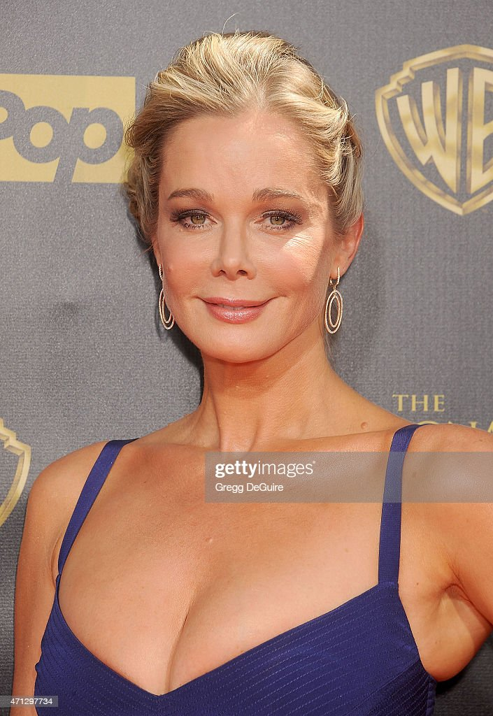 Jennifer Gareis arrives at the 42nd Annual Daytime Emmy Awards at Warner Bros. Studios on April 26, 2015 in Burbank, California.