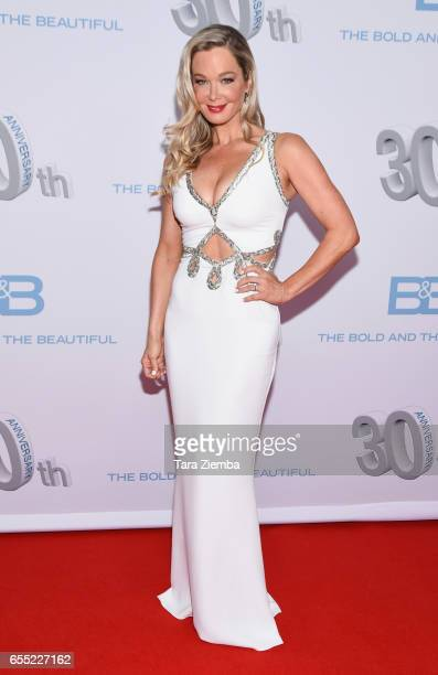 Jennifer Gareis attends the CBS's 'The Bold And The Beautiful' 30th Anniversary Party at Clifton's Cafeteria on March 18 2017 in Los Angeles...