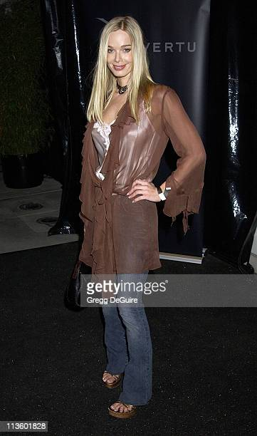Jennifer Gareis during Vertu Client Suite Opening at Vertu in Beverly Hills, California, United States.