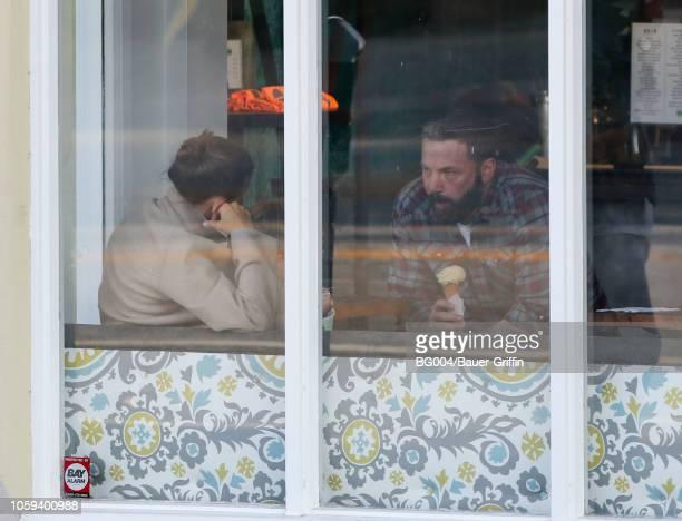 Jennifer Garner and Ben Affleck are seen on November 08 2018 in Los Angeles California