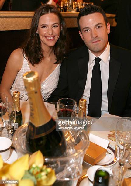 Jennifer Garner and Ben Affleck at the Beverly Hilton in Beverly Hills California