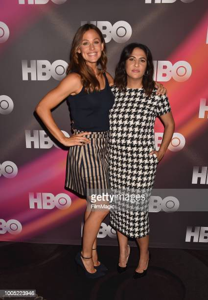 Jennifer Garner and executive producer/writer/director Jenni Konner attend the HBO Summer TCA 2018 at The Beverly Hilton Hotel on July 25 2018 in...