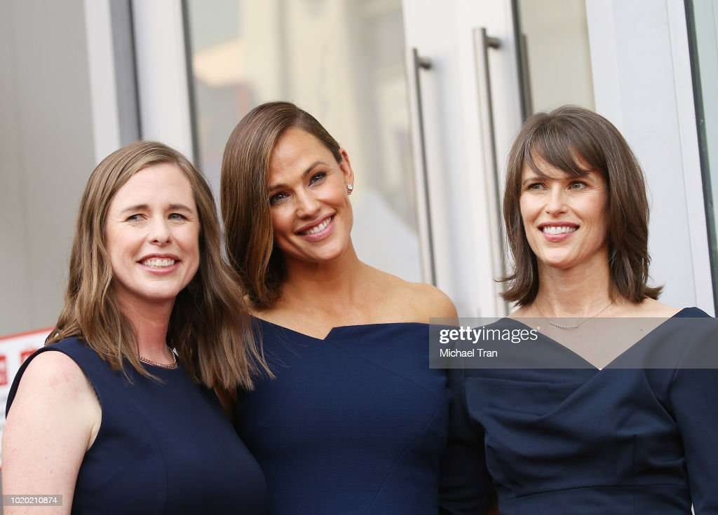 Jennifer Garner Honored With Star On The Hollywood Walk Of Fame : News Photo