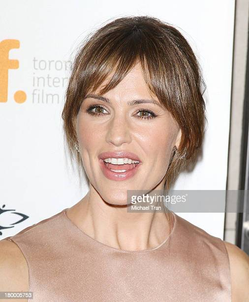 Jennifer Garner arrives at the Dallas Buyers Club premiere during the 2013 Toronto International Film Festival held at Princess of Wales Theatre on...