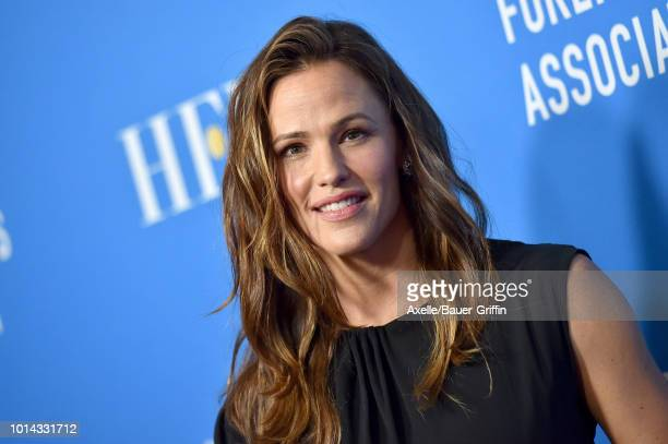 Jennifer Garner arrives at the Hollywood Foreign Press Association's Grants Banquet at The Beverly Hilton Hotel on August 9 2018 in Beverly Hills...