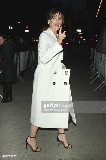 Jennifer Garner arriving to the Danny Collins film premiere on March 18 2015 in New York City