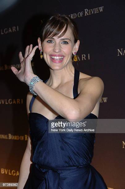 Jennifer Garner at Cipriani's 42nd St for the National Board of Review of Motion Pictures Awards Gala