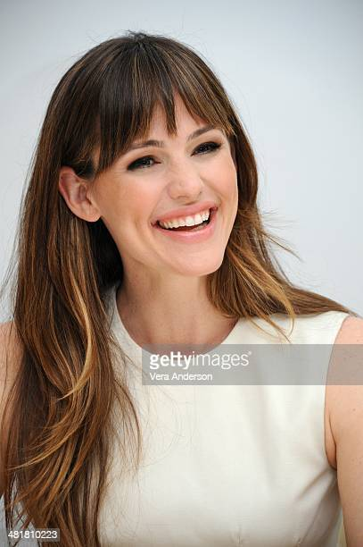 Jennifer Garner at the 'Draft Day' Press Conference at the Four Seasons Hotel on March 29 2014 in Beverly Hills California