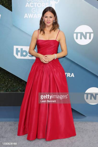Jennifer Garner attends 26th Annual Screen Actors Guild Awards at The Shrine Auditorium on January 19, 2020 in Los Angeles, California.
