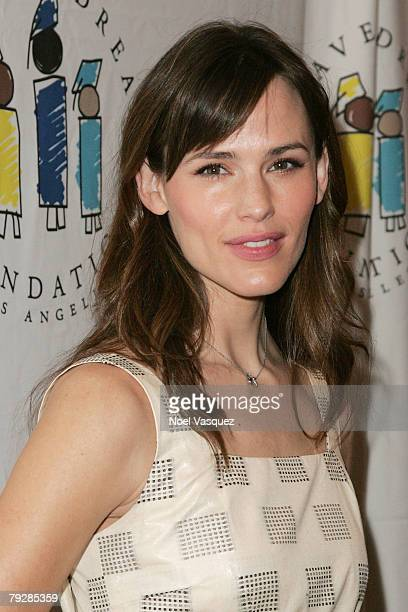 Jennifer Garner attends the 10th Annual I Have A Dream Gospel Brunch at the Sunset Strip House of Blues on January 27 2008 in Los Angeles California