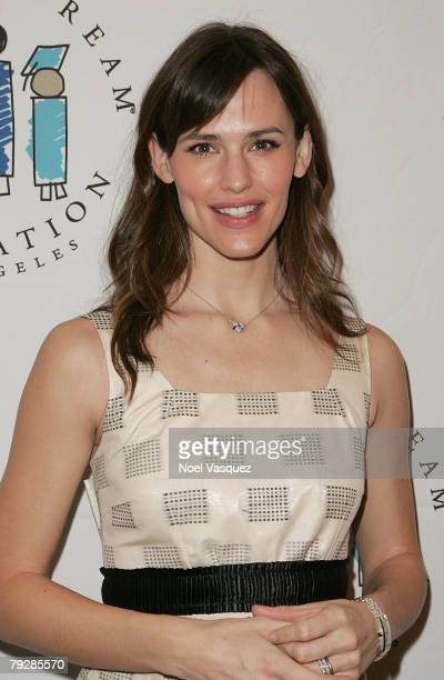 "Jennifer Garner attends the 10th Annual ""I Have A Dream"" Gospel Brunch at the Sunset Strip House of Blues on January 27, 2008 in Los Angeles,..."