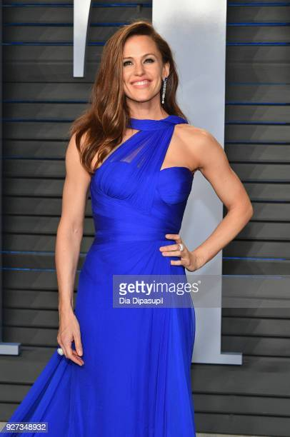 Jennifer Garner attends the 2018 Vanity Fair Oscar Party hosted by Radhika Jones at Wallis Annenberg Center for the Performing Arts on March 4 2018...