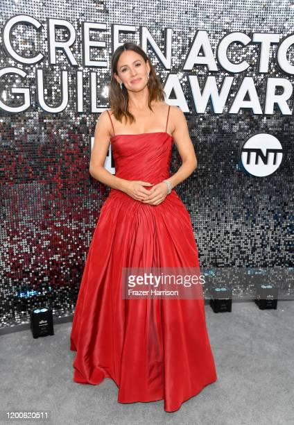 Jennifer Garner attends the 26th Annual Screen ActorsGuild Awards at The Shrine Auditorium on January 19 2020 in Los Angeles California