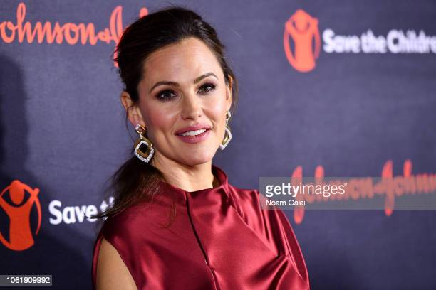 Jennifer Garner attends the 6th Annual Save the Children Illumination Gala at the American Museum of Natural History on November 14 2018 in New York...