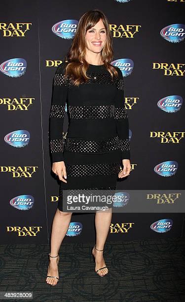 "Jennifer Garner attends the ""Draft Day'"" screening at Sunshine Landmark on April 10, 2014 in New York City."