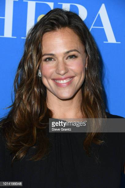 Jennifer Garner attends the Hollywood Foreign Press Association's Grants Banquet at The Beverly Hilton Hotel on August 9 2018 in Beverly Hills...