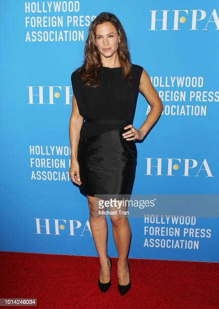 Jennifer Garner attends the Hollywood Foreign Press Association's Grants Banquet held at The Beverly Hilton Hotel on August 9 2018 in Beverly Hills...