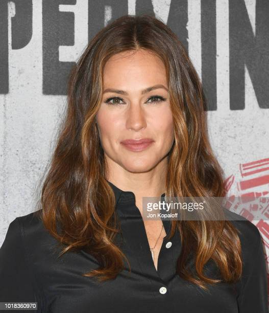 Jennifer Garner attends the photo call For STX Films' 'Peppermint' at Four Seasons Hotel Los Angeles at Beverly Hills on August 17 2018 in Los...