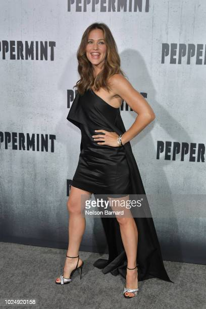 Jennifer Garner attends the premiere of STX Entertainment's 'Peppermint' at Regal Cinemas LA LIVE Stadium 14 on August 28 2018 in Los Angeles...