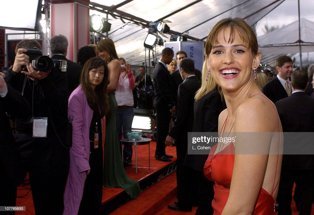 Jennifer Garner during 10th Annual Screen Actors Guild Awards - Red Carpet at Shrine Auditorium in Los Angeles, California, United States.