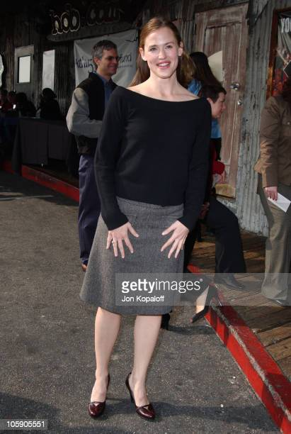 "Jennifer Garner during Sixth Annual Gospel Brunch, ""I Have A Dream"" Foundation at House of Blues in West Hollywood, California, United States."