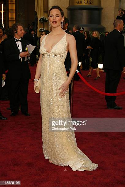 Jennifer Garner during The 78th Annual Academy Awards – Arrivals at Kodak Theatre in Hollywood California United States