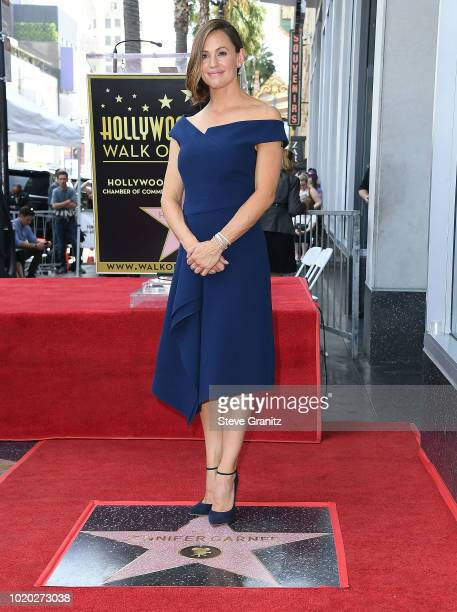 Jennifer Garner Honored With Star On The Hollywood Walk Of Fame on August 20 2018 in Hollywood California