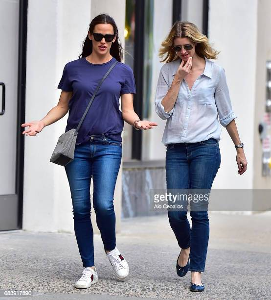 Jennifer Garner is seen in the West Village on May 17 2017 in New York City