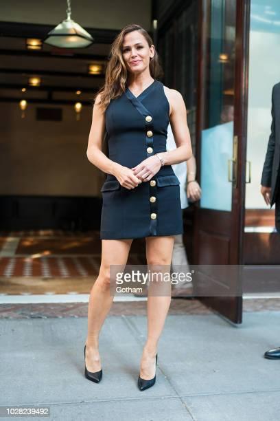 Jennifer Garner is seen in Tribeca on September 6 2018 in New York City