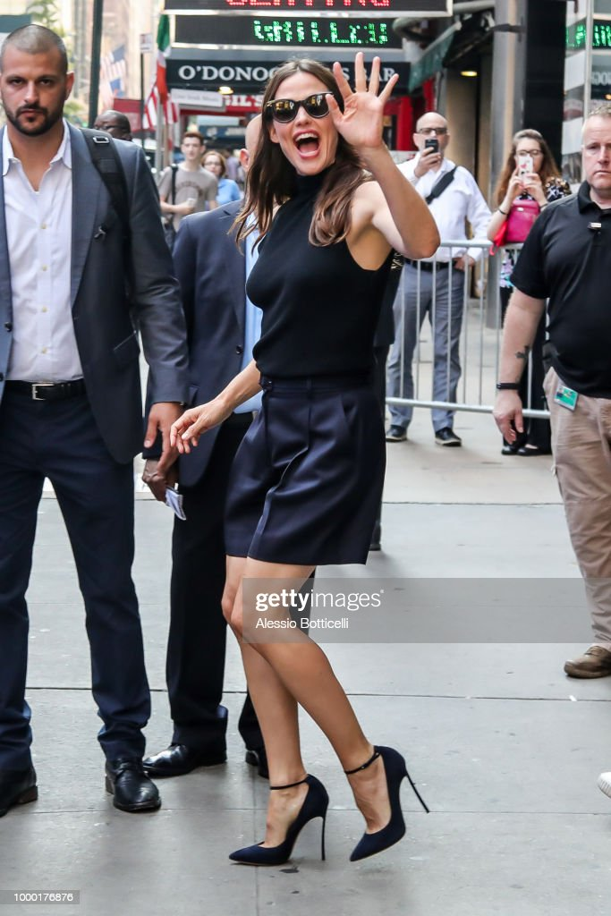 Celebrity Sightings in New York City - July 16, 2018