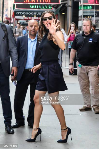 Robin Roberts is seen outside 'Good Morning America' on July 16 2018 in New York City