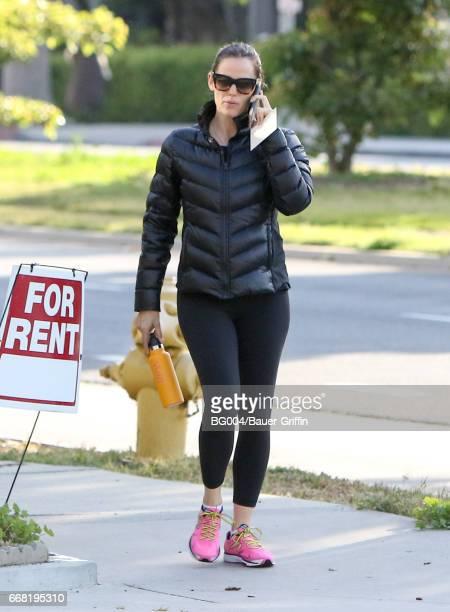 Jennifer Garner is seen on April 13 2017 in Los Angeles California