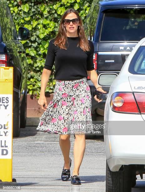 Jennifer Garner is seen on April 15 2018 in Los Angeles California
