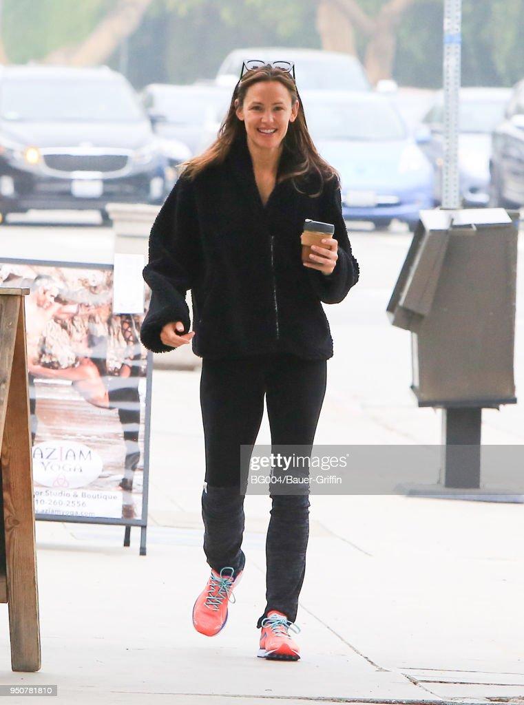 Celebrity Sightings In Los Angeles - April 24, 2018