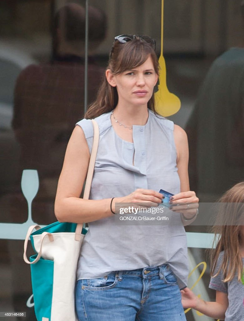 Jennifer Garner is seen on August 03, 2014 in Los Angeles, California.