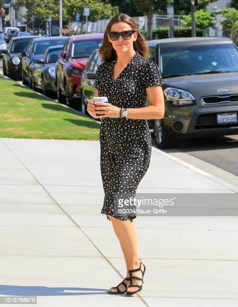 Jennifer Garner is seen on August 12 2018 in Los Angeles California