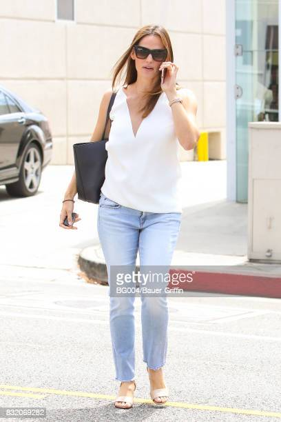 Jennifer Garner is seen on August 15 2017 in Los Angeles California