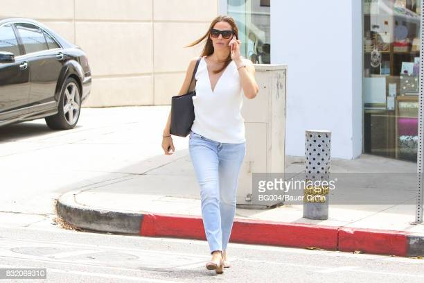 Jennifer Garner is seen on August 15 2017 in Los Angeles California