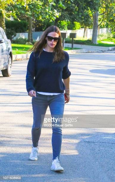 Jennifer Garner is seen on August 22 2018 in Los Angeles California