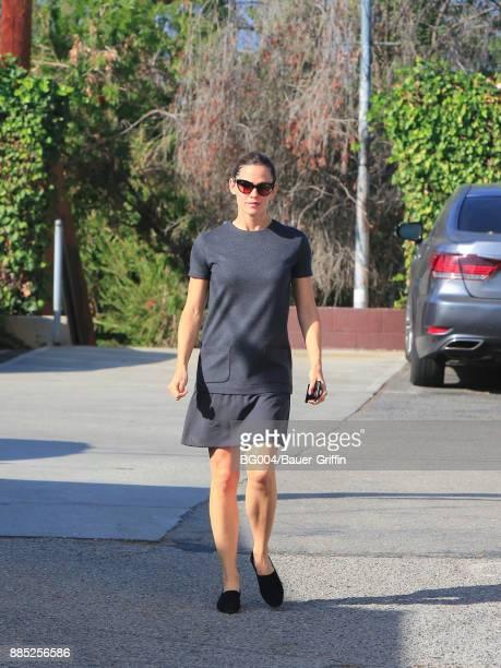 Jennifer Garner is seen on December 03 2017 in Los Angeles California