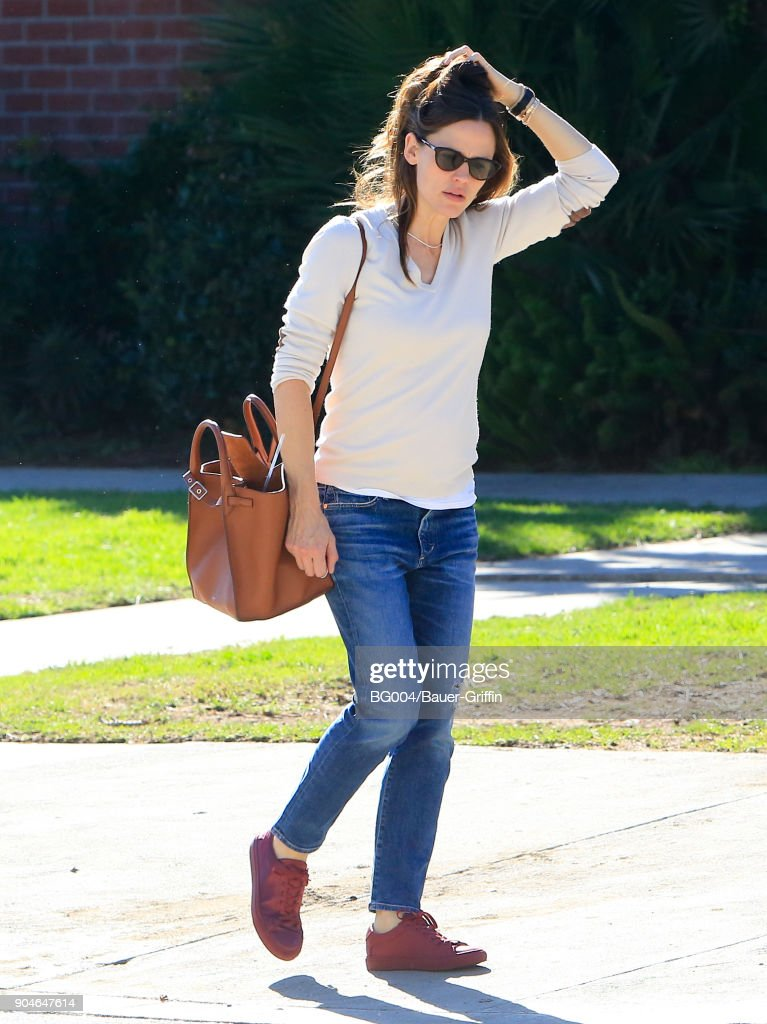 Jennifer Garner is seen on January 13, 2018 in Los Angeles, California.