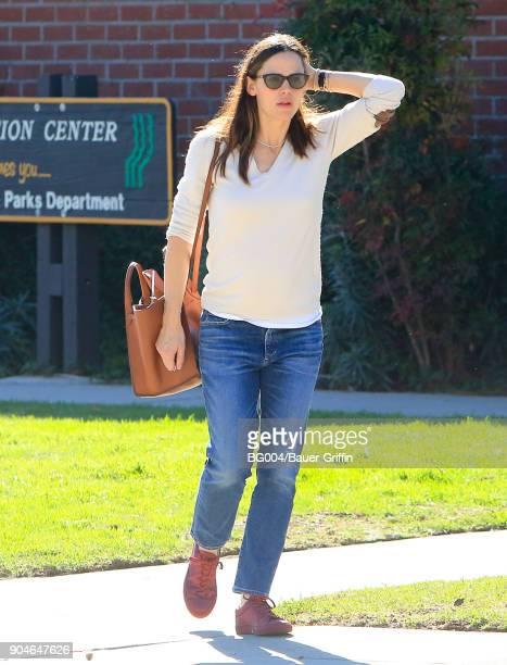 Jennifer Garner is seen on January 13 2018 in Los Angeles California