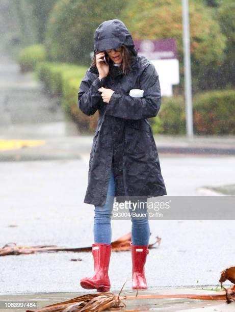 Jennifer Garner is seen on January 17, 2019 in Los Angeles, California.