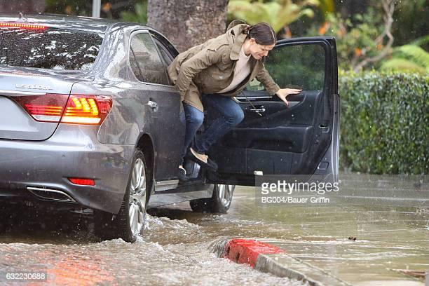 Jennifer Garner is seen on January 20 2017 in Los Angeles California