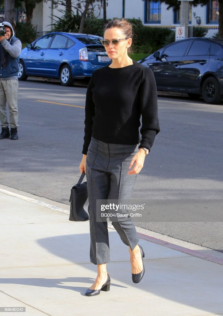 Celebrity Sightings In Los Angeles - January 21, 2018