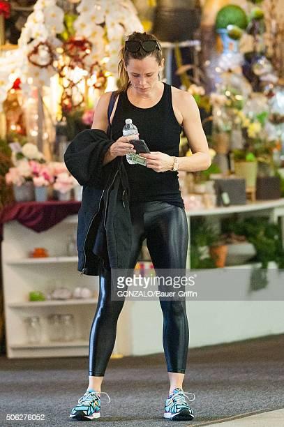 Jennifer Garner is seen on January 22 2016 in Los Angeles California