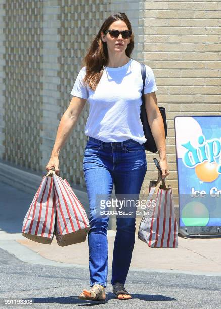 Jennifer Garner is seen on July 03 2018 in Los Angeles California